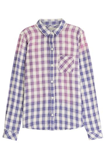Current/elliott Current/elliott Cotton Shirt - Purple