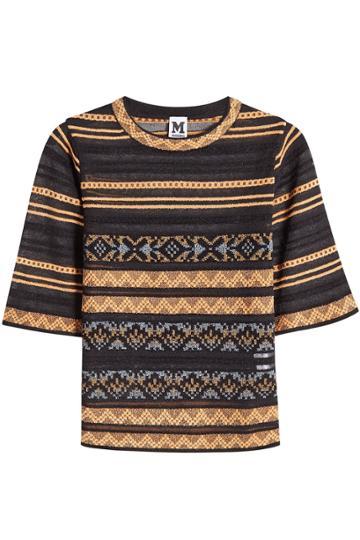 M Missoni M Missoni Knit Top With Cotton