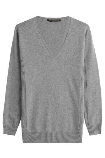 Agnona Agnona Wool Pullover - Grey