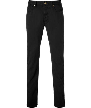 Marc Jacobs Cotton Jeans In Black