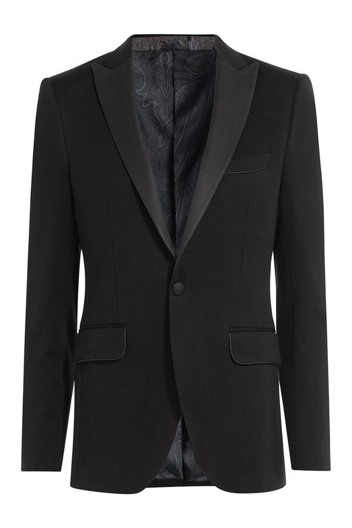 Etro Etro Tuxedo Blazer - Black