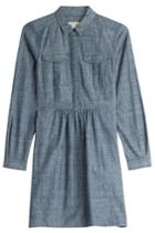 Burberry Brit Burberry Brit Chambray Dress - Blue