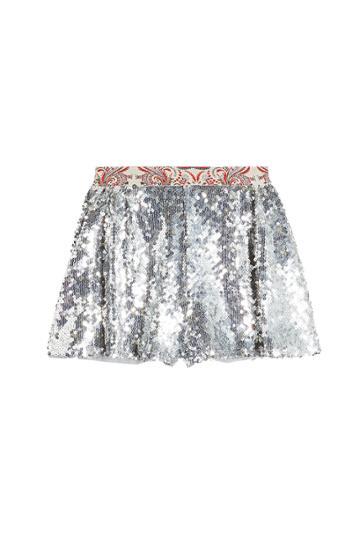 Paco Rabanne Paco Rabanne Sequin Shorts