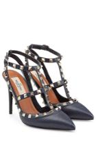 Valentino Valentino Rockstud Leather Pumps - Blue