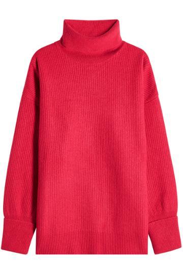 Maison Margiela Maison Margiela Oversized Turtleneck Pullover With Wool