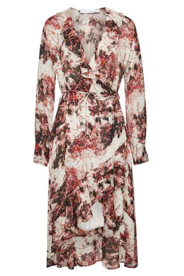 Iro Iro Garden Floral Wrap Dress