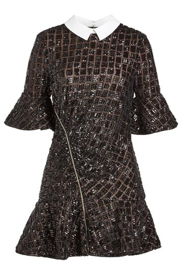 Self-portrait Self-portrait Sequin Cocktail Dress