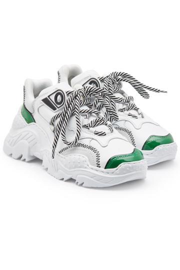 N°21 N°21 Running Leather Sneakers