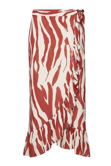 Anine Bing Anine Bing Lucky Printed Wrap Skirt