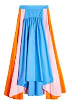 Peter Pilotto Peter Pilotto Cotton Maxi Skirt - Multicolor