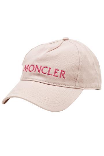 Moncler Moncler Embroidered Cotton Baseball Cap