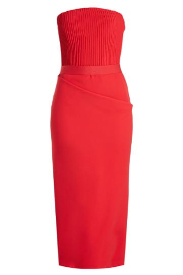 Brandon Maxwell Brandon Maxwell Tailored Dress