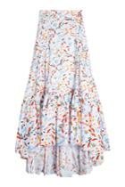 Peter Pilotto Peter Pilotto Printed Cotton Maxi Skirt