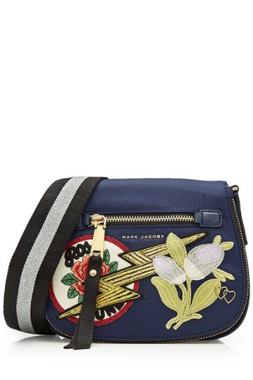 Marc Jacobs Marc Jacobs Shoulder Bag With Patches