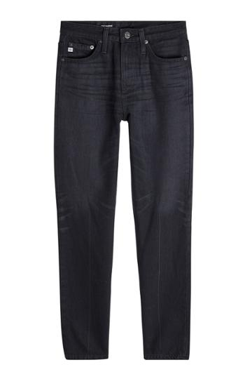 Adriano Goldschmied Adriano Goldschmied Cropped Straight Leg Jeans - Black