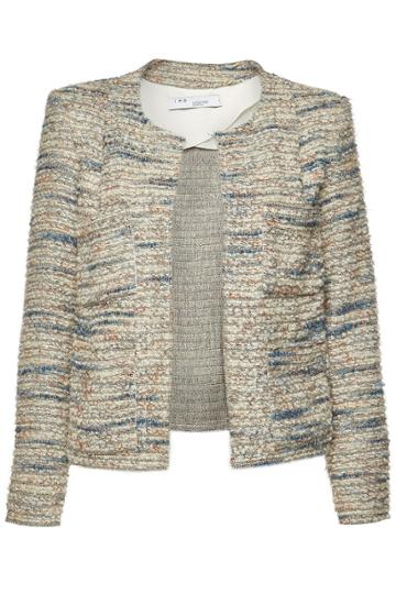 Iro Iro Belugo Tweed Blazer With Wool And Cotton