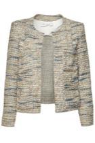 Iro Iro Belugo Tweed Blazer With Wool And Cotton