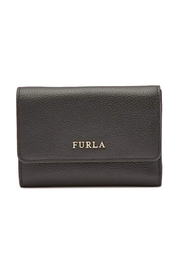 Furla Furla Babylon S Tri-fold Leather Wallet