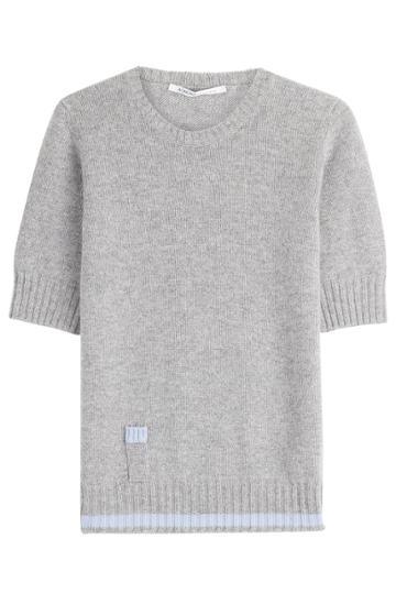 Agnona Agnona Cashmere Top - Grey