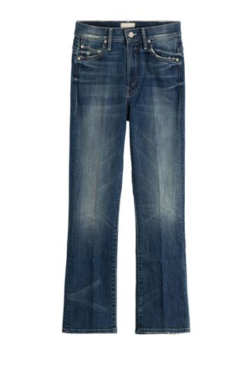 Mother Mother The Insider Cropped Jeans - None