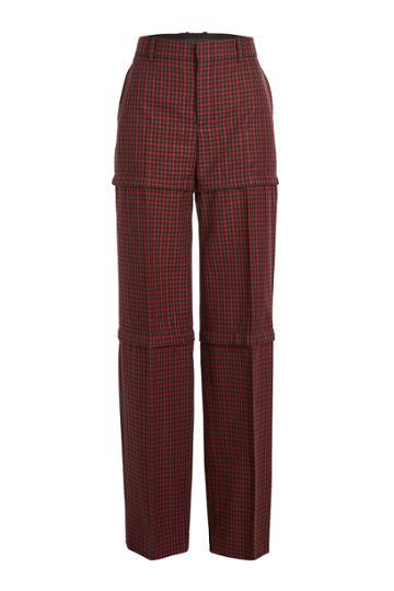 Balenciaga Balenciaga Zipped Virgin Wool Pants
