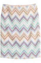 Missoni Zigzag Print Pencil Skirt