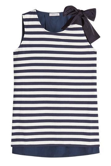Moncler Moncler Striped Sleeveless Top