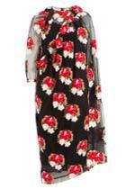 Simone Rocha Simone Rocha Embroidered Tulle Dress