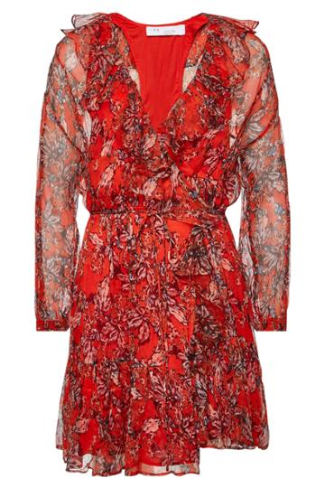 Iro Iro Pacify Floral Wrap Dress