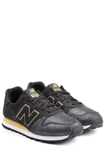 New Balance New Balance Coated Leather Sneakers