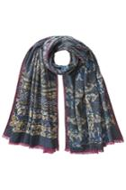 Etro Etro Printed Wool Scarf With Silk - None
