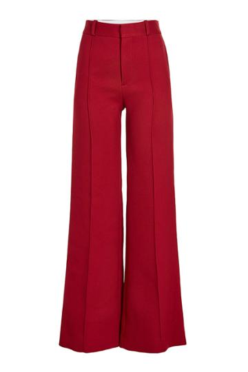 See By Chloé See By Chloé Wide Leg Pants With Cotton