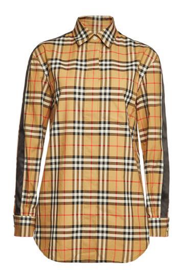 Burberry Burberry Saoirse Checked Cotton Shirt