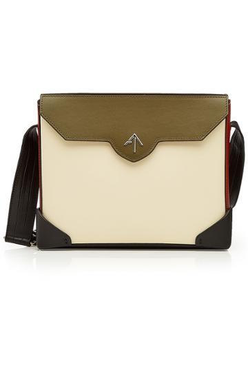Manu Atelier Manu Atelier Bold Leather Shoulder Bag