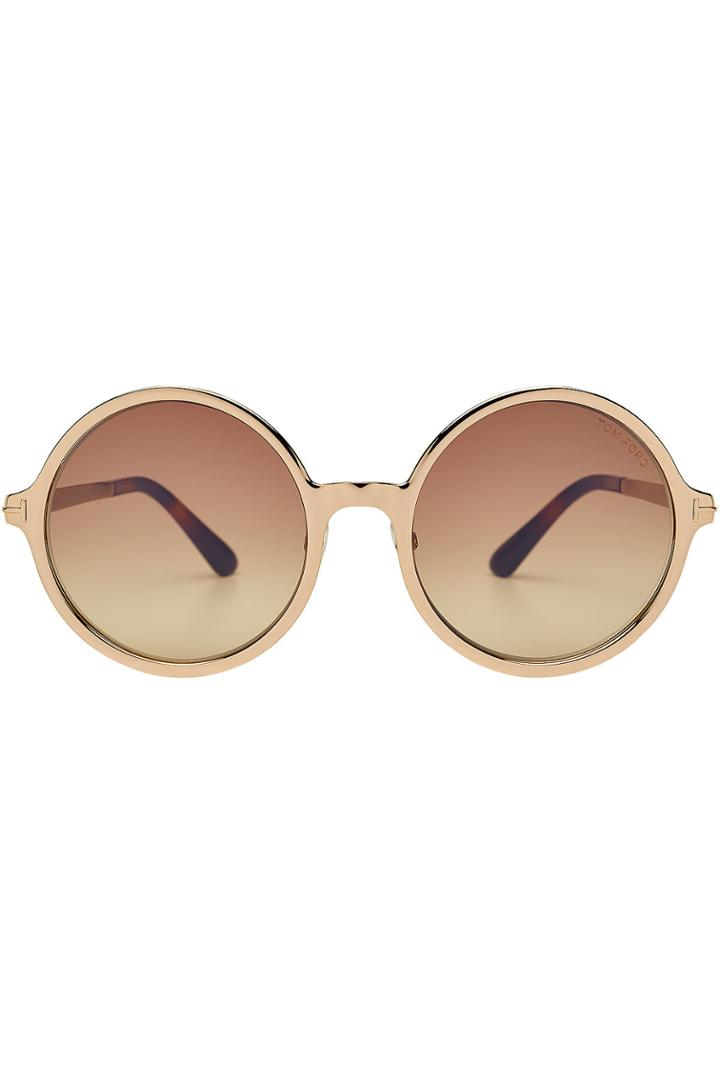 Tom Ford Tom Ford Round Frame Sunglasses