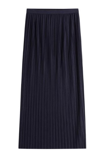 Theory Theory Pleated Long Skirt