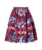 Peter Pilotto Printed Circle Skirt