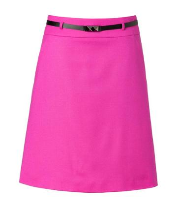 Hugo Rebetta Skirt In Bright Pink