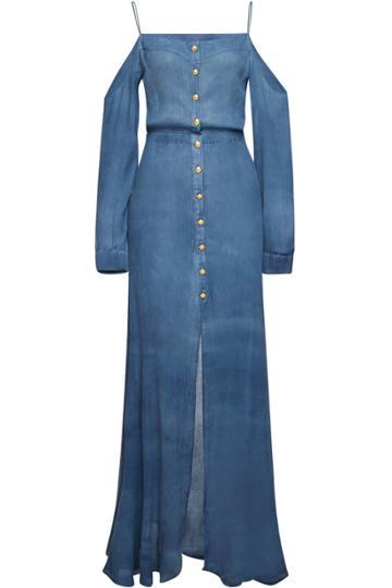 Balmain Balmain Silk Maxi Dress