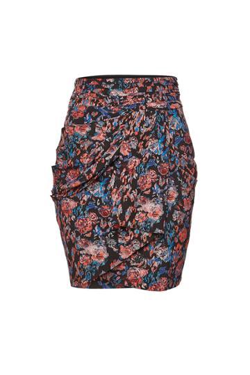 Iro Iro Sway Floral Silk Skirt