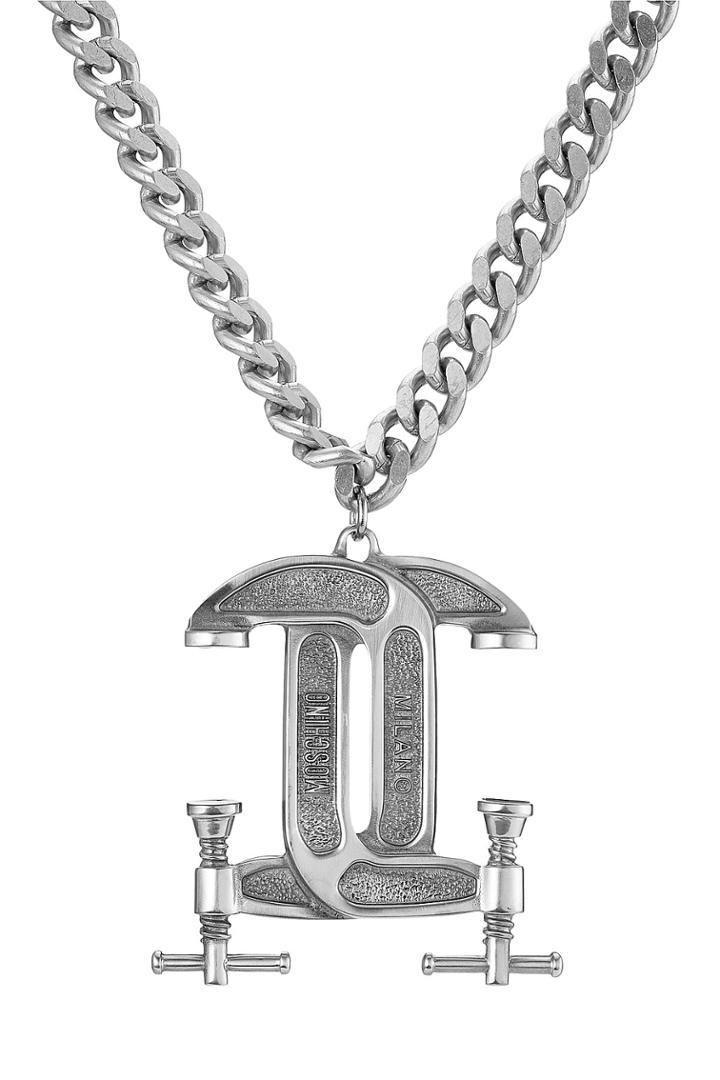 Moschino Moschino Statement Necklace - Silver