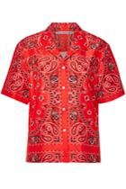Alexander Wang Alexander Wang Printed Silk Shirt