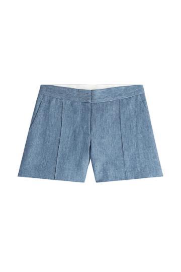 Vanessa Bruno Vanessa Bruno Chambray Shorts