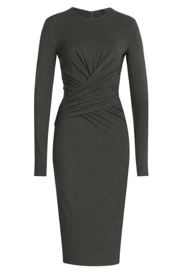 Donna Karan Donna Karan Draped Jersey Dress