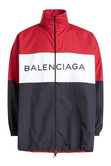 Balenciaga Balenciaga Logo Parka