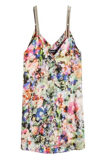 Y/project Y/project Printed Slip Dress With Silk