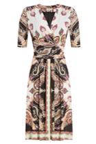 Etro Etro Printed Wrap Dress