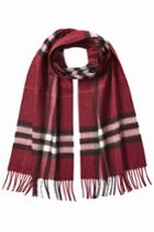 Burberry Shoes & Accessories Burberry Shoes & Accessories Printed Cashmere Scarf - Red