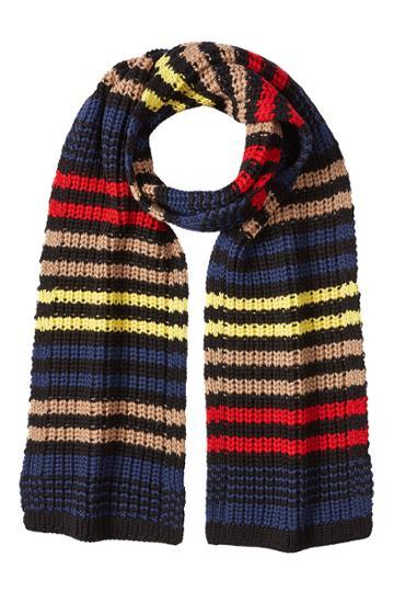 Sonia Rykiel Sonia Rykiel Wool Scarf - Stripes