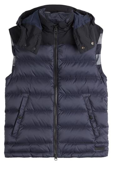 Burberry Brit Burberry Brit Quilted Vest - Blue